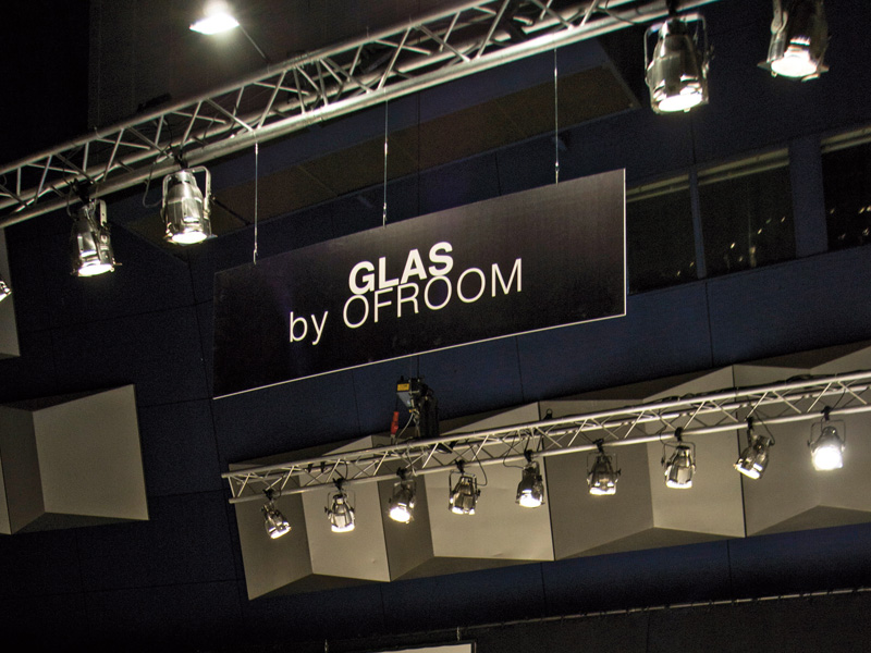 "Sondershow ""GLAS  selected by OFROOM"" auf der ""ARCHITECT@WORK"""